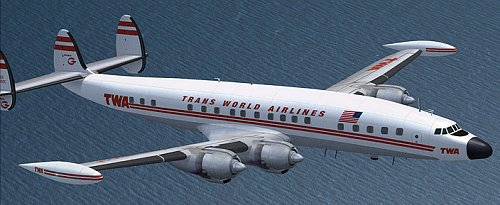 TWA 1049G Super Constellation